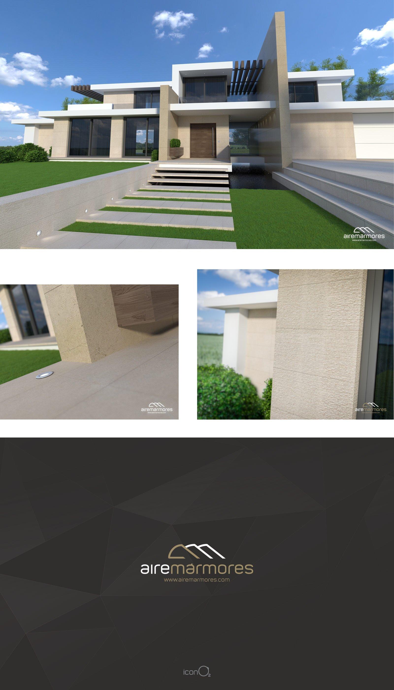 Airemármores Casa 3D