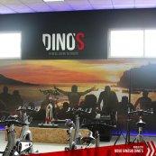 Renovação de imagem dos ginásios Dino's