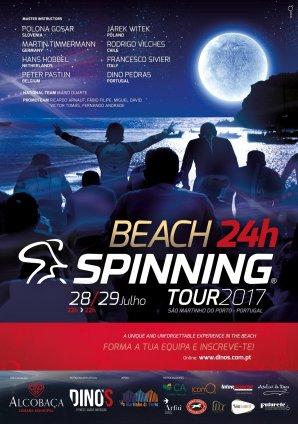 Beach 24h Spinning Tour 2017